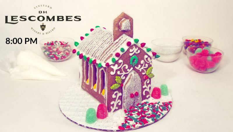 Make Your Own Gingerbread Chapel at DH Lescombes Winery