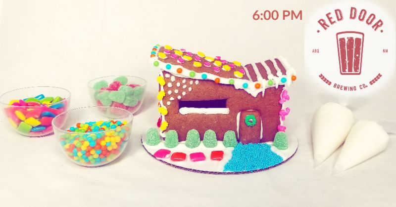 Make Your Own Gingerbread Mod House at Red Door