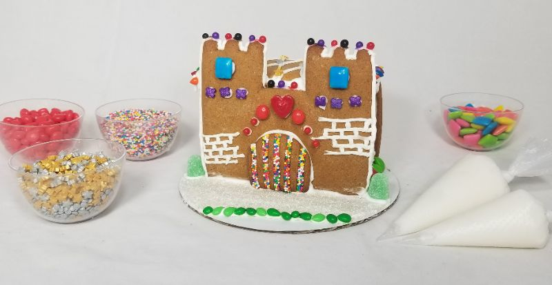 Decorate A Gingerbread Castle!