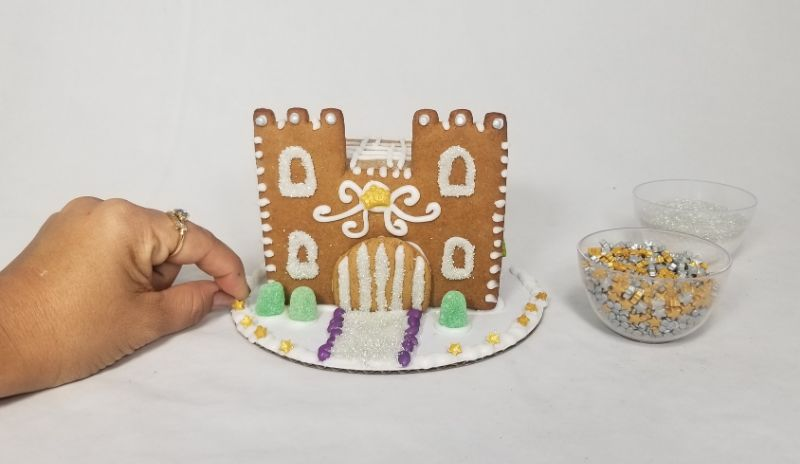 Make Your Own Castle Gingerbread House at Compass Rose Brewery
