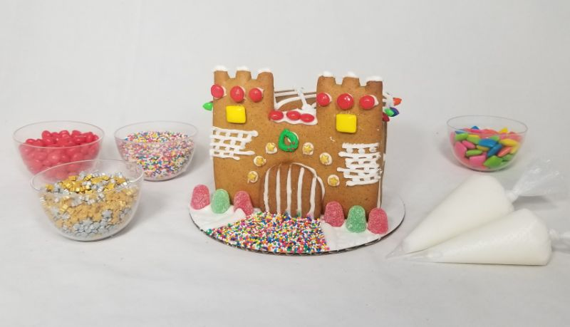 Make Your Own Castle Gingerbread House at Lassiter Distilling Co