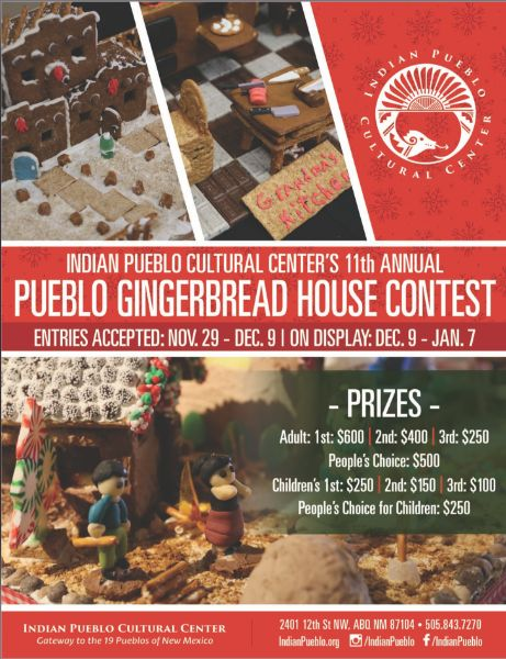 11th Annual Pueblo Gingerbread House Contest