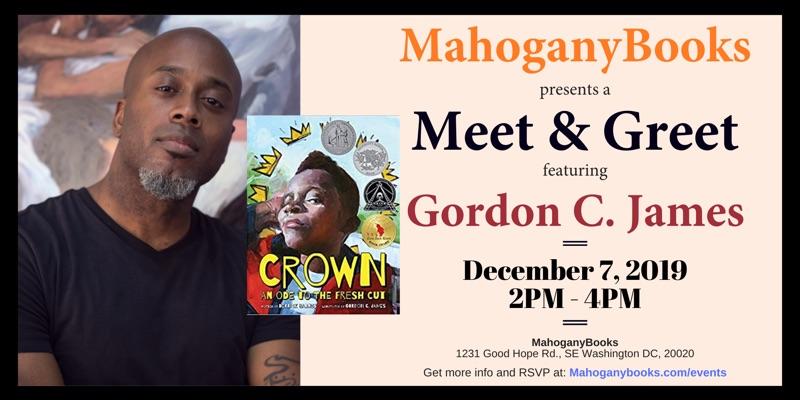 A Meet & Greet Featuring Gordon C. James