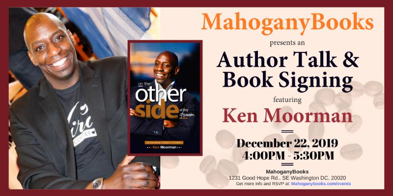 An Author Talk & Book Signing Featuring Ken Moorman