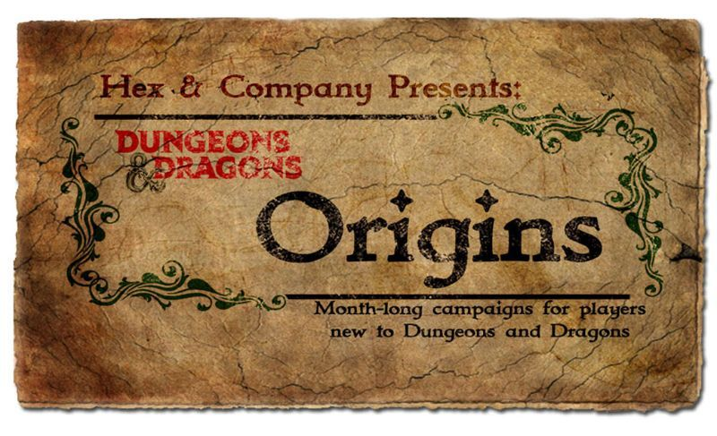 D&D Origins: A Beginner's Campaign