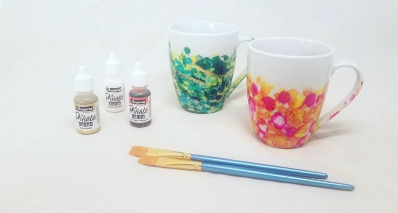 Make Your Own Painted Mugs