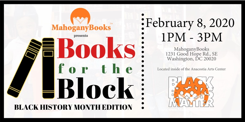 Books for the Block: Black History Month Edition