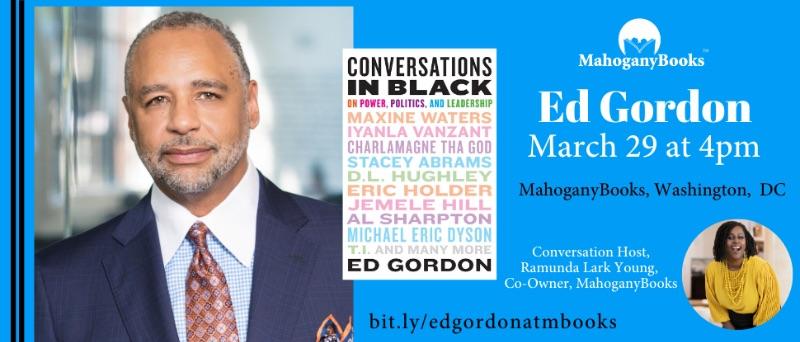 MahoganyBooks presents: Ed Gordon Author Talk & Book Signing