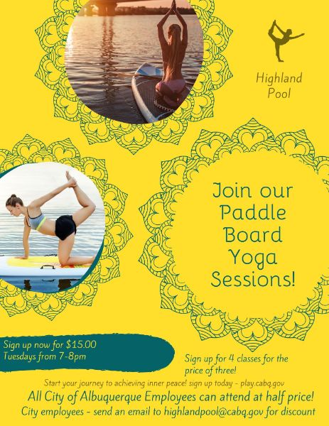 Highland Paddle Board Yoga