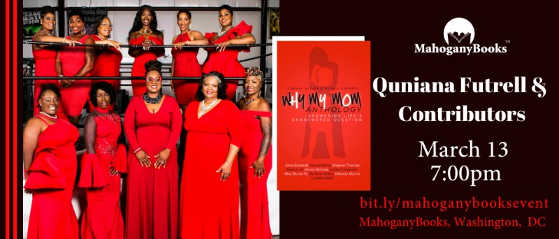 Quniana Futrell and Fellow Contributors Discuss/Sign  Why My Mom