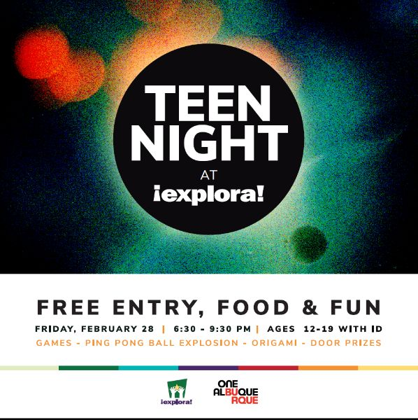 Teen Night: Explora!