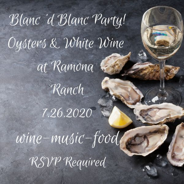 Oyster and Wine Pairing - Rescheduled to Sunday, July 26th