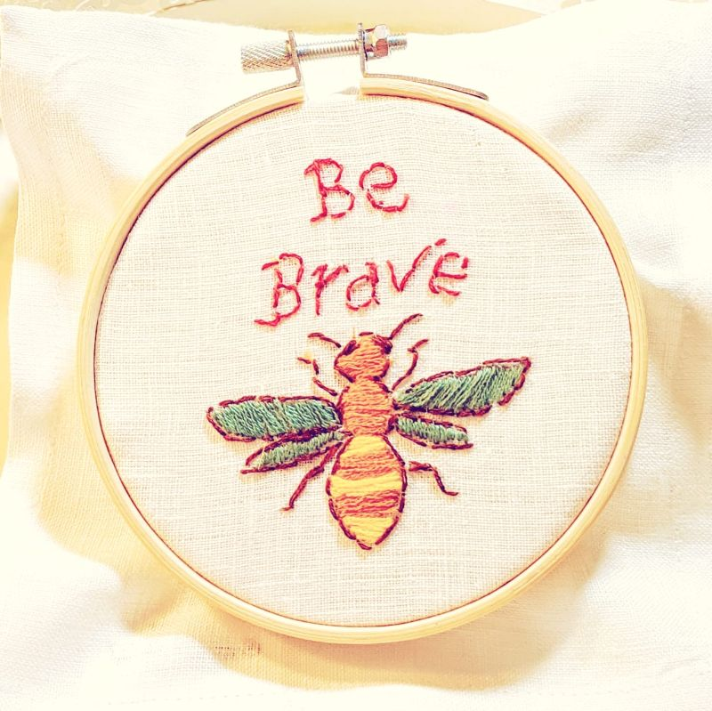 Virtual Craft Party - Be Brave