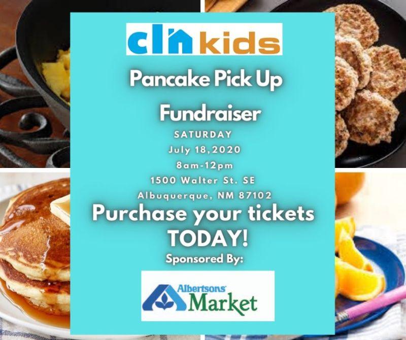 CLNkids Pancake Pick Up Fundraiser 2020