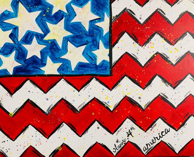 Fourth of July Virtual Painting!