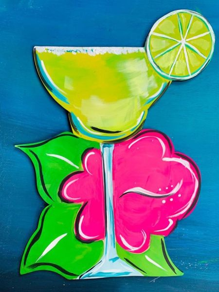 Viva Margarita Online Paint Party!