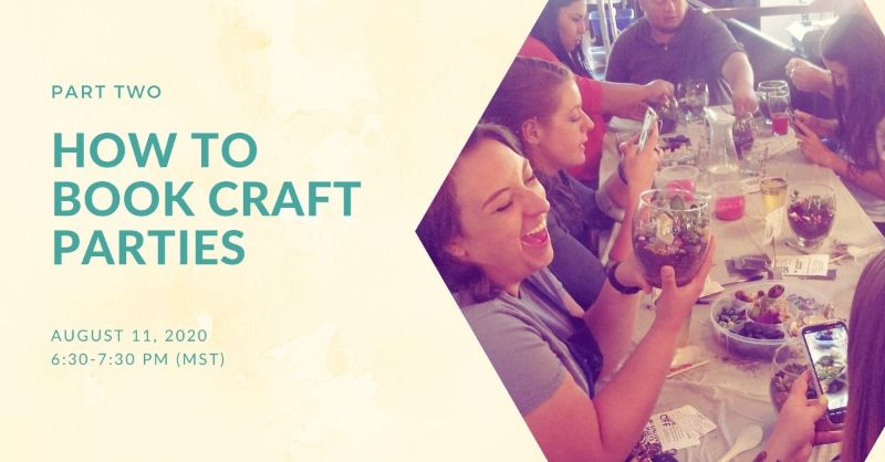 How to Book Craft Parties
