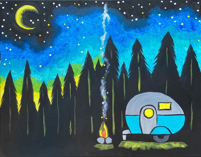 Under the Stars- paint nite event!