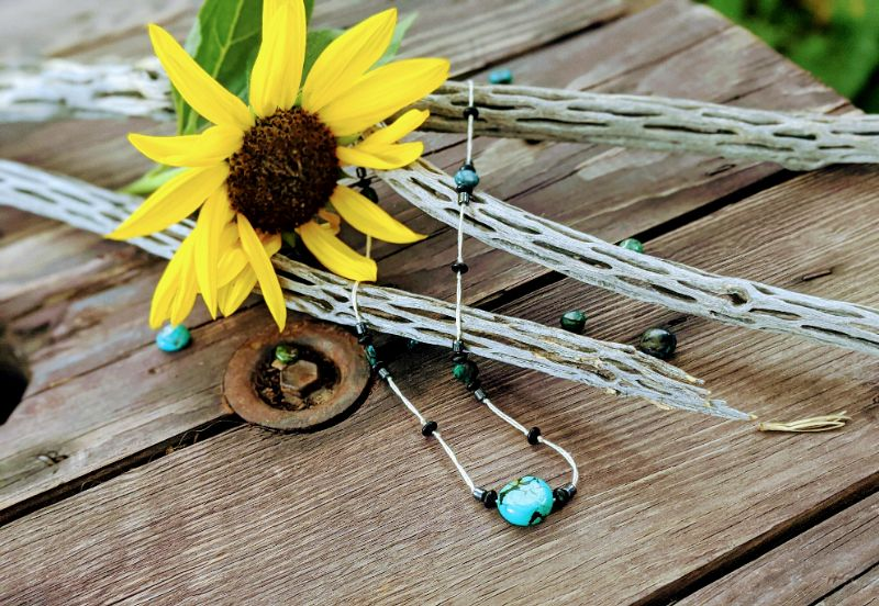 Virtual Craft Party - Turquoise Necklaces