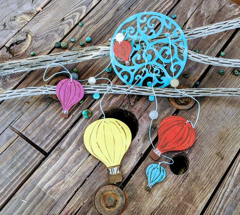 Virtual Craft Party - Hot-Air Balloon Mobiles
