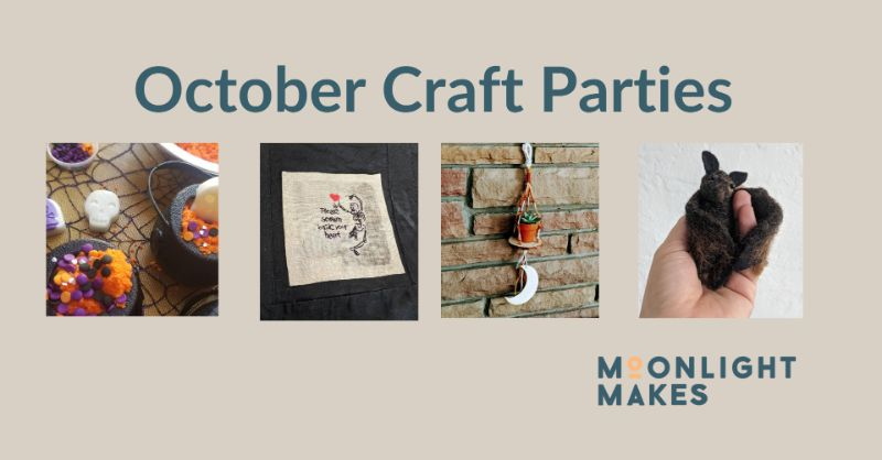 October Moonlight Crafting Club - Buy 3 get 1 FREE!