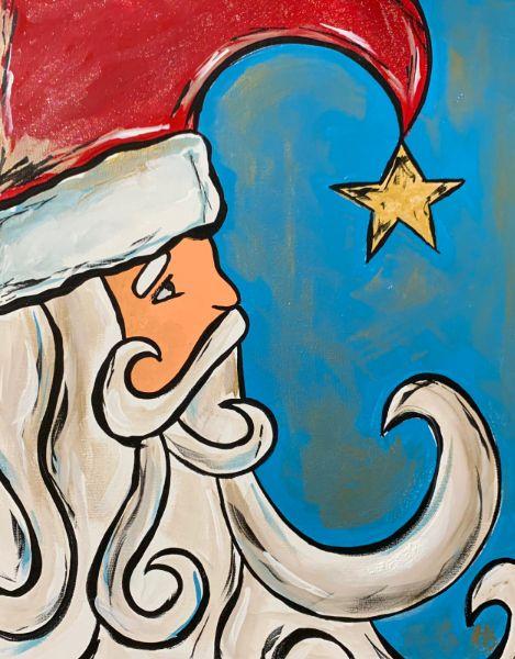 Vintage Santa-ONLINE event