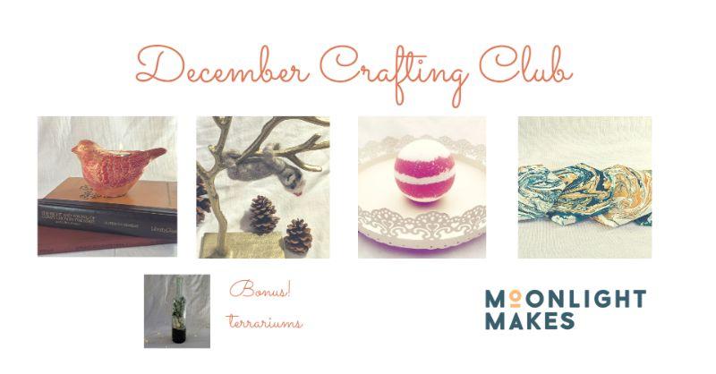 December Crafting Club  - Buy 3 get 2 FREE!