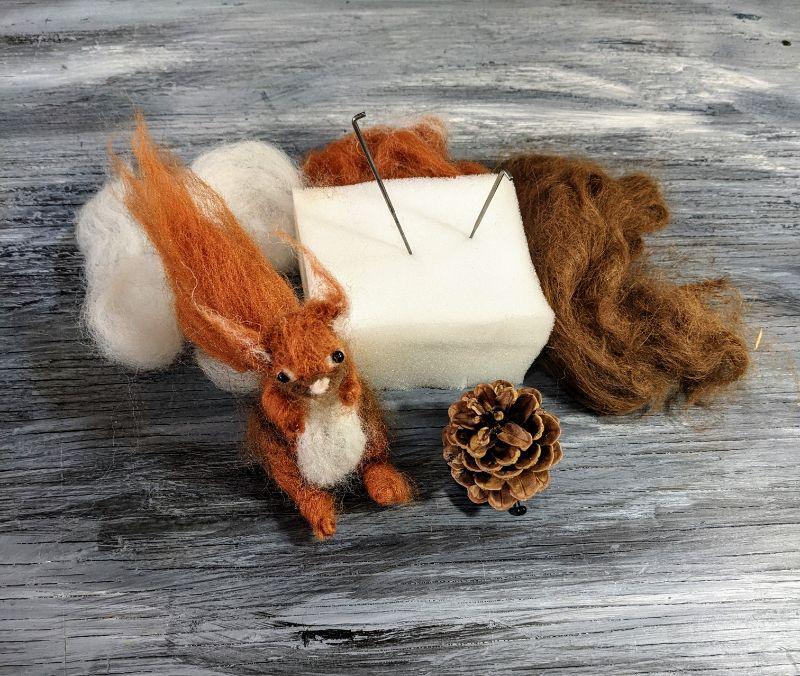 Virtual Craft Tutorial/Kit - Squirrel!s