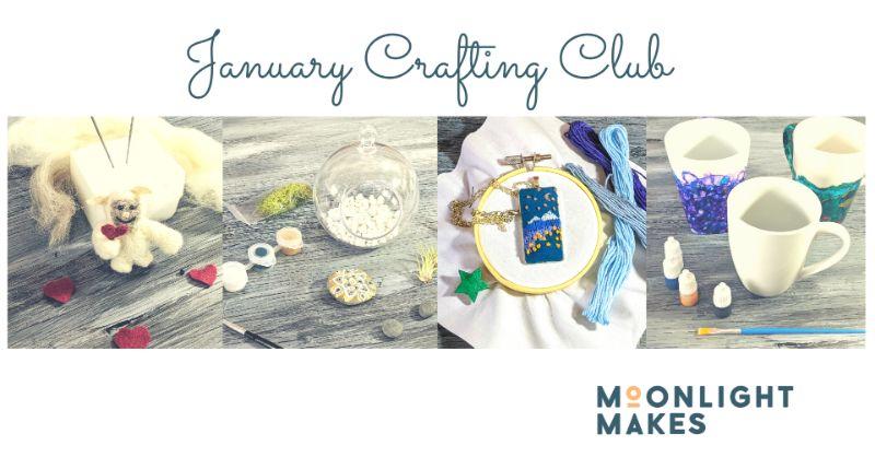 January Crafting Club  - Buy 3 get 1 FREE!