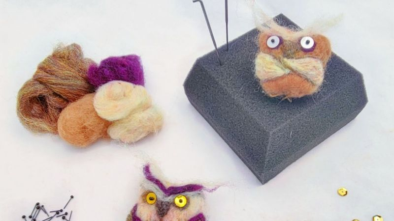 Virtual Craft Party - Owls