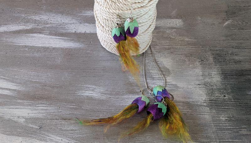 Virtual Craft Party - Silk Jewelry
