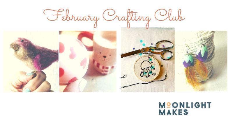 February Crafting Club  - Buy 3 get 1 FREE!