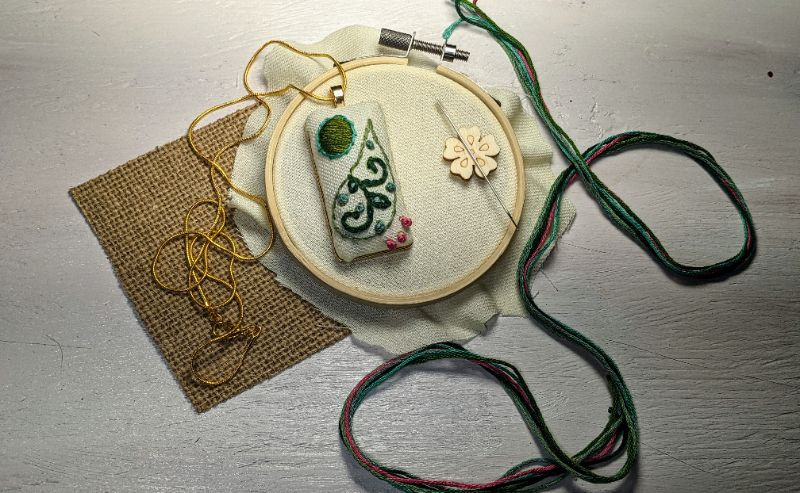 Virtual Craft Party - Paisley Chains!