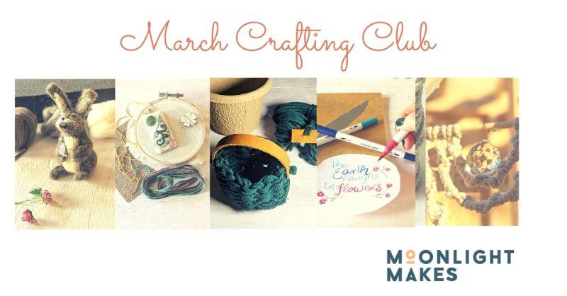 March Crafting Club  - Buy 3 get 2 FREE!