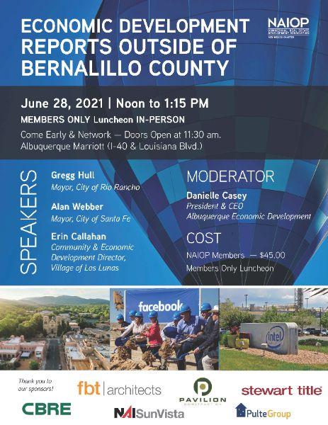 Economic Development Reports Outside of Bernalillo County