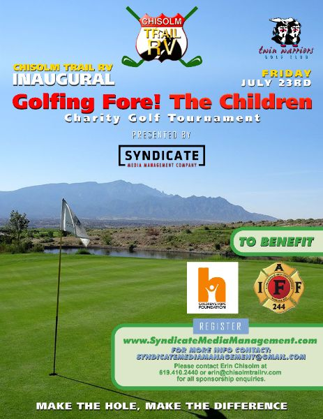 Golfing Fore! The Children Golf Tournament