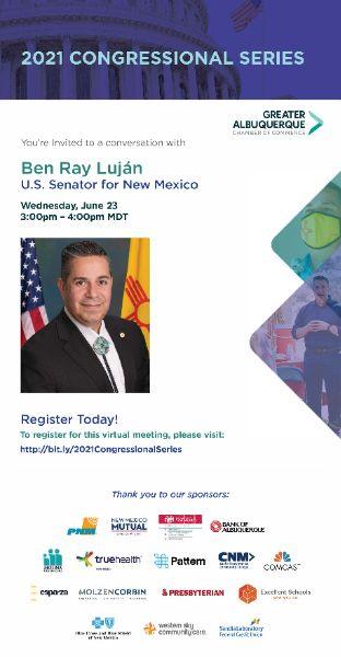 2021 Congressional Series: A Conversation with Sen. Ben Ray Luján