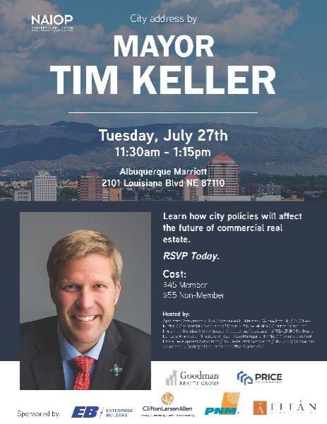 Mayor Tim Keller - City Address