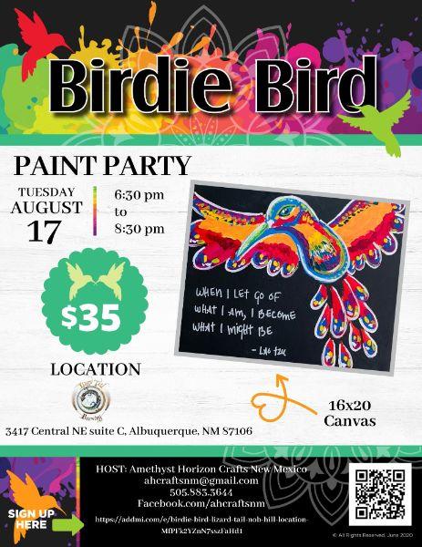 Birdie Bird- Lizard Tail NOB HILL LOCATION