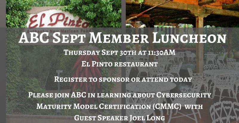 September Member Luncheon