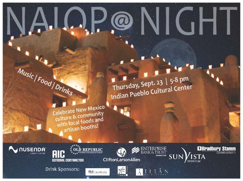 NAIOP @ NIGHT 9-23-21 Indian Pueblo Cultural Center