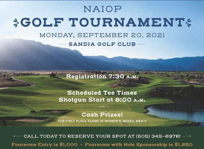 NAIOP Golf on September 29th at Sandia Golf Club