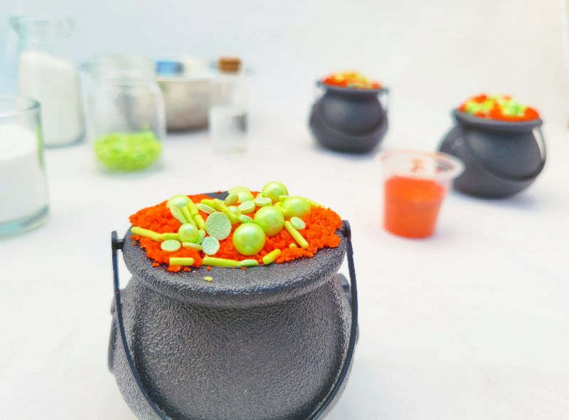 Virtual Craft Party - Witches Brew Bath Bombs