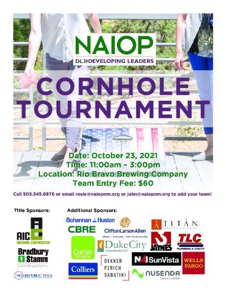 NAIOP Developing Leaders 5th Annual CORNHOLE TOURNAMENT