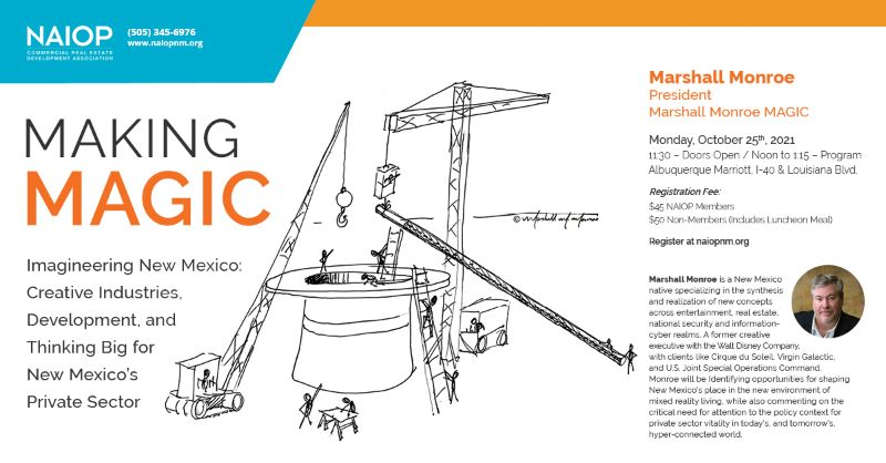 "Making MAGIC - Marshall Monroe ""Innovator & Visionary"""