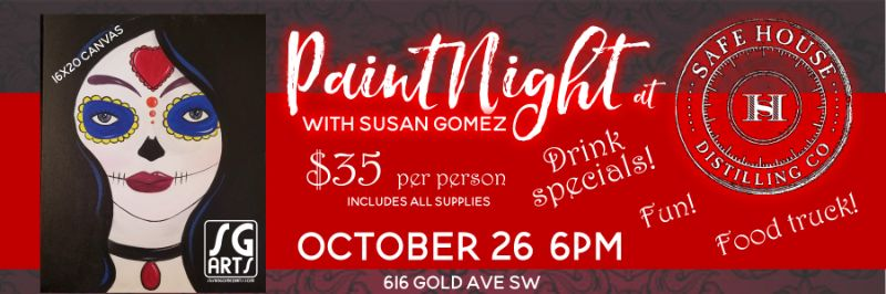 Paint Night with Susan Gomez