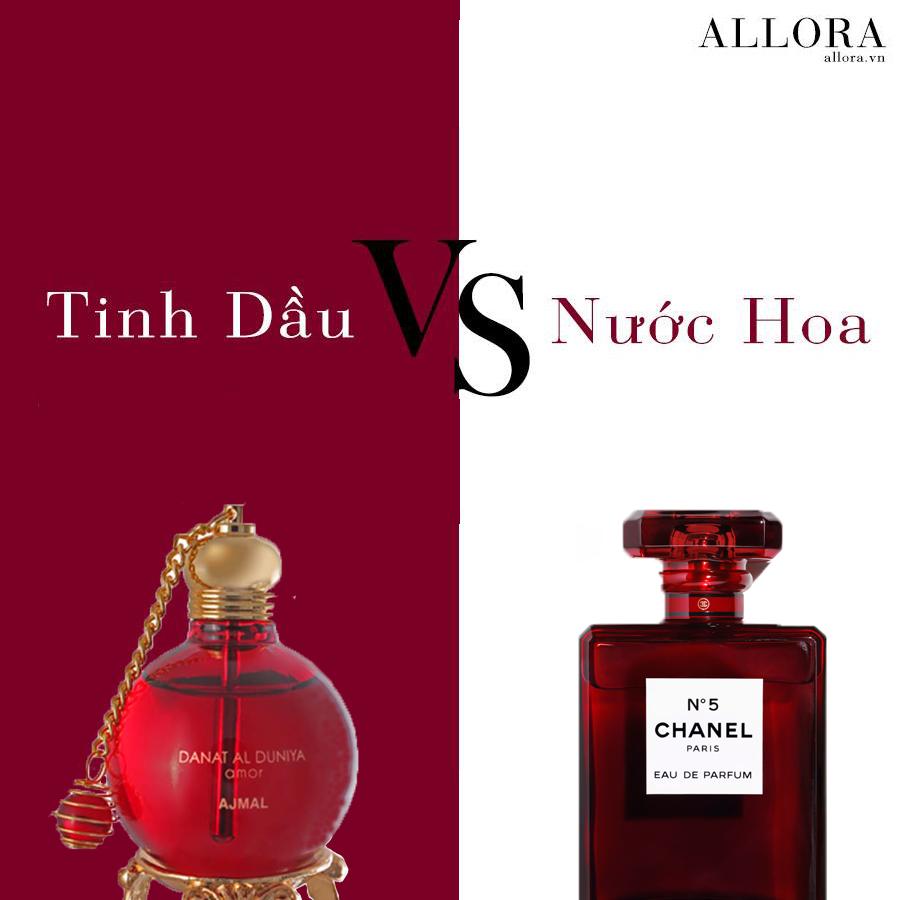 Chọn tinh dầu hay nước hoa truyền thống?