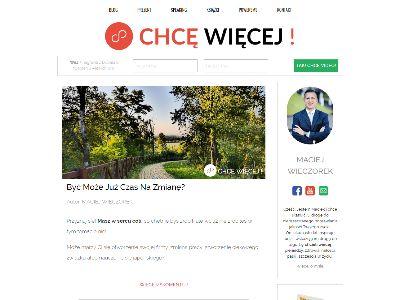 Chcę Więcej Blog