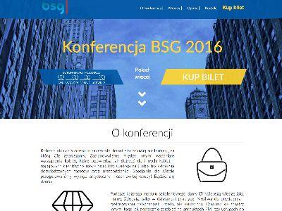 Konferencja BSG