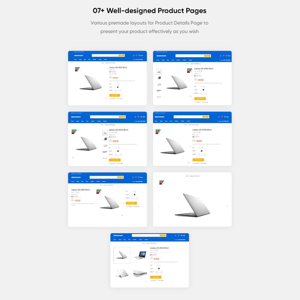 07+ Well-designed Product Pages